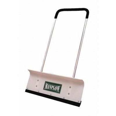 """MANPLOW PRO32 32"""" HDPE Snow Shovel with 48"""" Aluminum Handle"""