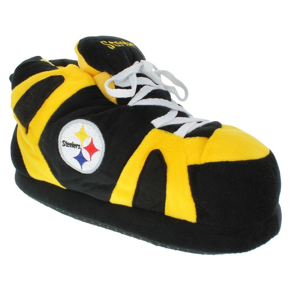 Comfy Feet NFL Pittsburgh Steelers Slipper SM, Kids Unisex, Size: Small, Multicolored