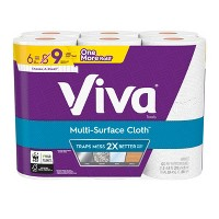 48-CT Viva Multi-Surface Choose-A-Sheet Paper Towels + $10 GC