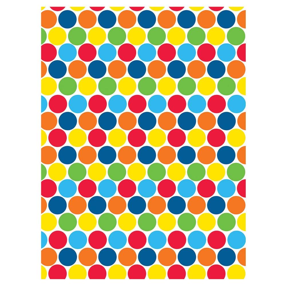 Polka Dot Photo Backdrop, Multi-Colored