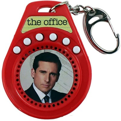 Super Impulse World's Coolest The Office Talking Keychain   6 Quotes