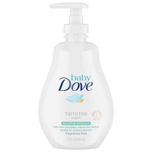 Baby Dove Sensitive Moisture Tip-to-Toe Fragrance-Free Wash - 13oz - image 1 of 4