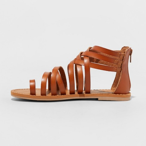 eaf93d8de67 Women s Makena Gladiator Sandals - Universal Thread™   Target