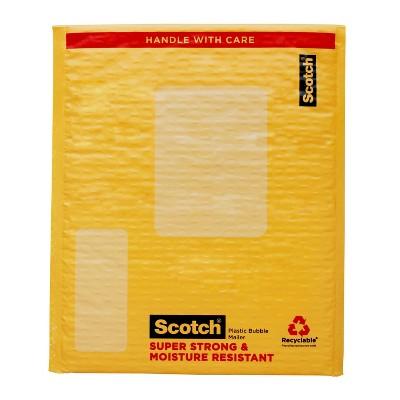 """Scotch 9.5"""" x 13.5""""  Plastic Bubble Mailer"""