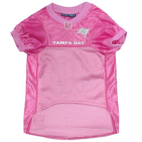 NFL Pets First Pink Pet Football Jersey - Tampa Bay Buccaneers   Target 958da463d