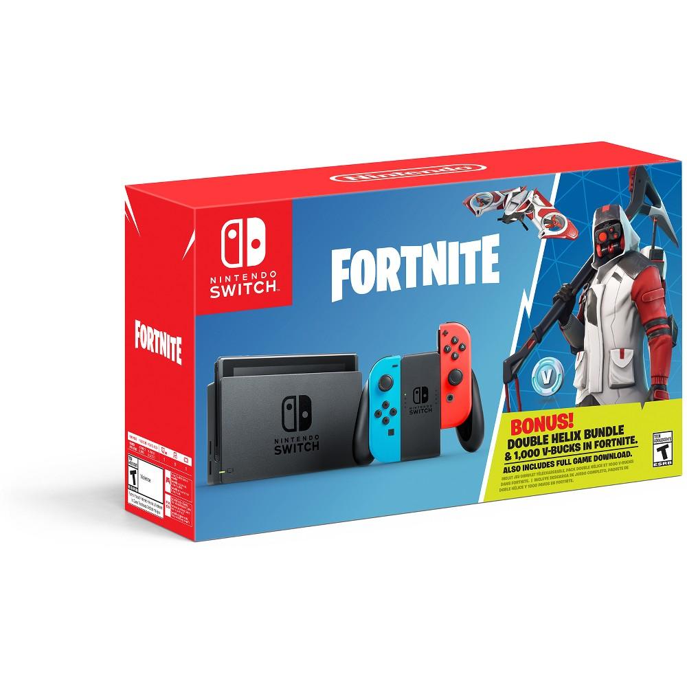 Nintendo Switch Fortnite Double Helix Bundle, Black