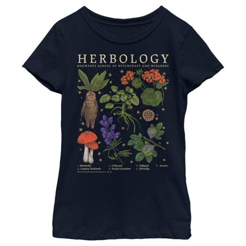 Girl's Harry Potter Hogwarts Herbology T-Shirt - image 1 of 3