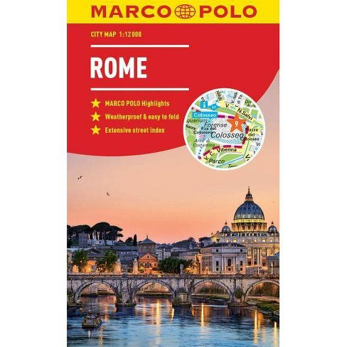 Rome Marco Polo City Map - (Marco Polo City Maps) (Sheet Map, Folded) - image 1 of 1