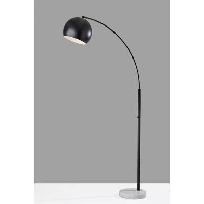 Astoria Arc Lamp Black - Adesso
