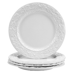 "Dinner Plate 11.5"" Firenze Ivory Set of 4 - Certified International"