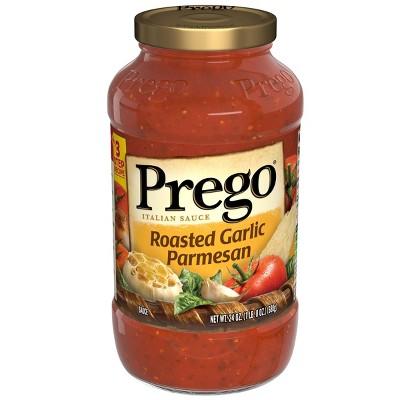 Prego Roasted Garlic Parmesan Italian Sauce 24oz