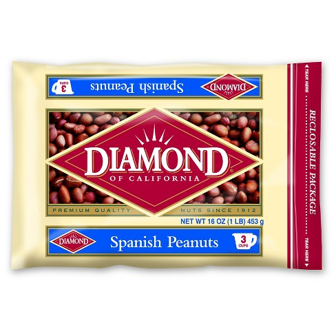 Diamond Spanish Peanuts - 16oz - image 1 of 1