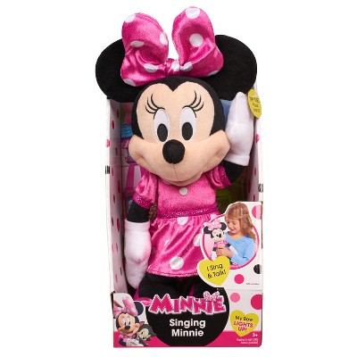 Minnie Mouse Happy Helpers Musical Light Up Plush Target Inventory