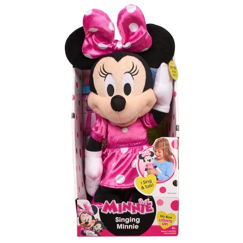 f3a9909ece68f Minnie Mouse Happy Helpers Musical Light Up Plush : Target