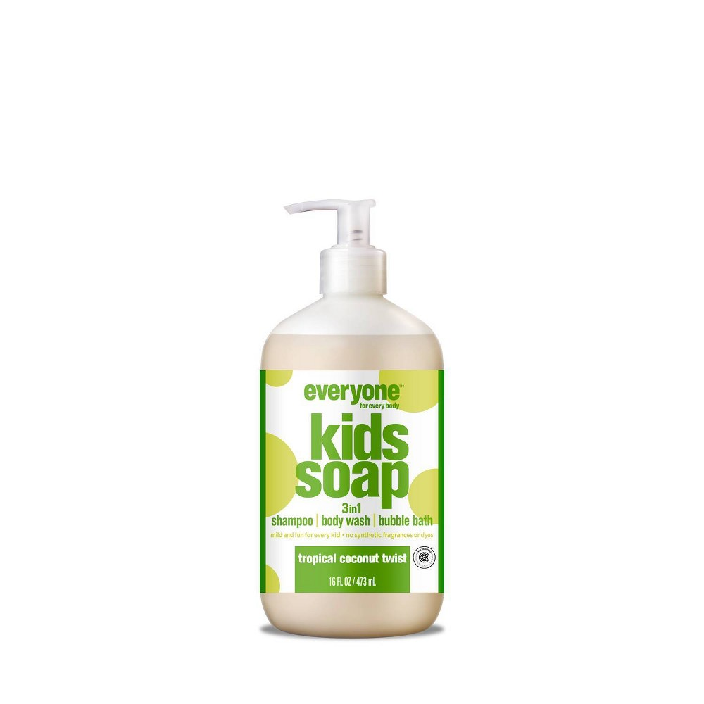 Image of Everyone Kids Tropical Coconut Twist 3-in-1 Soap - 16 fl oz