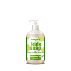 Everyone Kids Tropical Coconut Twist 3-in-1 Soap - 16 fl oz