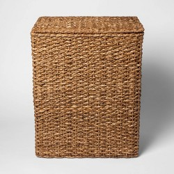 Wicker Hamper Dark Global Brown 25 X13 X20 Threshold