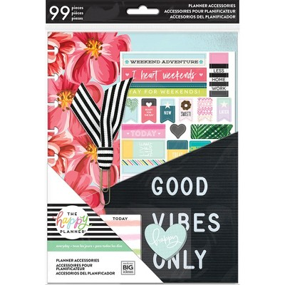 Undated Planners The Happy Planner Multicolor