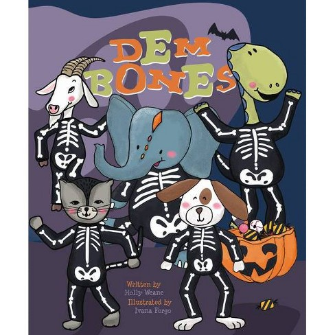 Dem Bones - (Flowerpot Holiday) by  Holly Weane (Board_book) - image 1 of 1