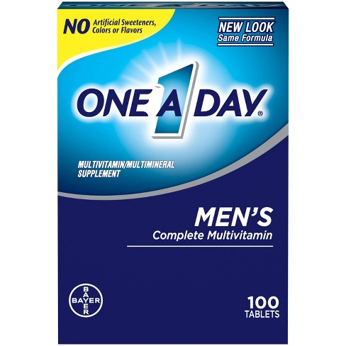 One A Day For Men Multivitamin Dietary Supplement Tablets Target