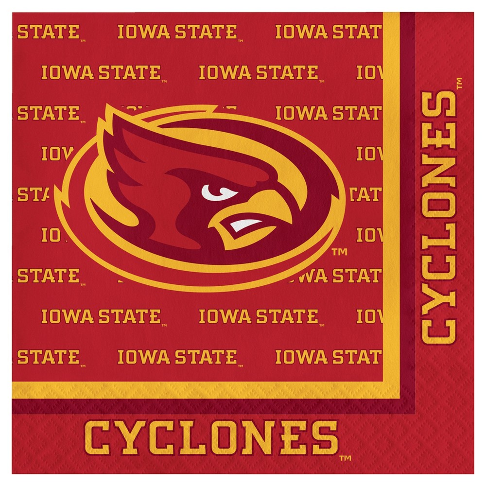 20ct Iowa State Cyclones University Napkins