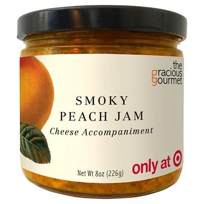 The Gracious Gourmet Smoky Peach Jam Fruit Spreads - 8oz
