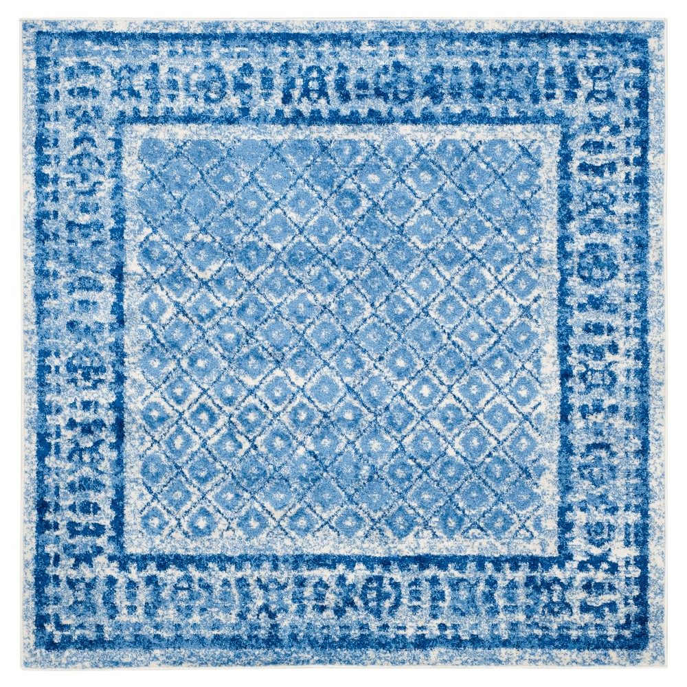 Remi Area Rug - Silver/Blue (72