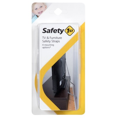 Safety 1st TV & Furniture Safety Straps - Gray