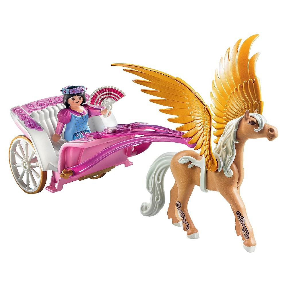 Playmobil Princess with Pegasus Carriage, Multi Colors