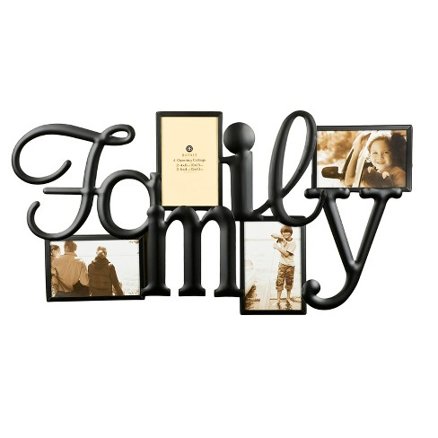 a42b173c4614 Burnes 4-Opening Collage Family Frame   Target