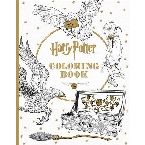 Harry Potter The Coloring Book 1 by Scholastic Inc