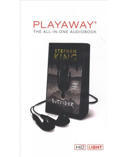Outsider : Library Edition -  Unabridged by Stephen King (Pre-Loaded Audio Player) - image 1 of 1