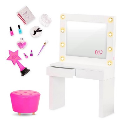 "Our Generation Glitz and Glamour Dressing Room Playset for 18"" Dolls"