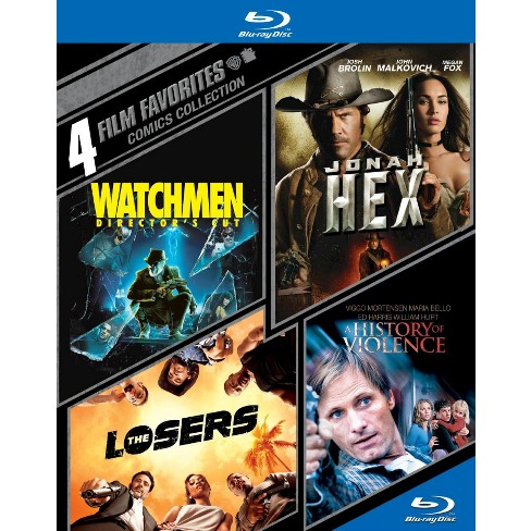 Comics Collection: 4 Film Favorites (4 Discs) (Blu-ray) - image 1 of 1