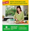 Glad Kitchen Compost Bags + Odorshield 100% Compostable Green Trash Bags - Febreze Fresh Lemon - 2.6 Gallon - 20ct - image 2 of 4