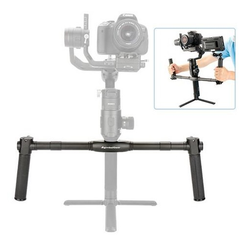 Ulanzi DH04 Dual Handle Grip for DJI Ronin S 3-Axis Stabilization System - image 1 of 4