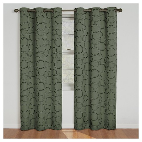 Thermaback Meridian Blackout Curtain Panel - Eclipse - image 1 of 3