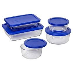 Pyrex 10pc Glass Storage Set