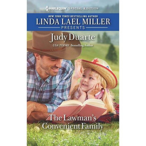 The Lawman's Convenient Family - (Rocking Chair Rodeo) by  Judy Duarte (Paperback) - image 1 of 1