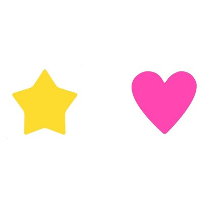 "2pc Post It Note Pads 2.5"" Star & Heart by Post It"