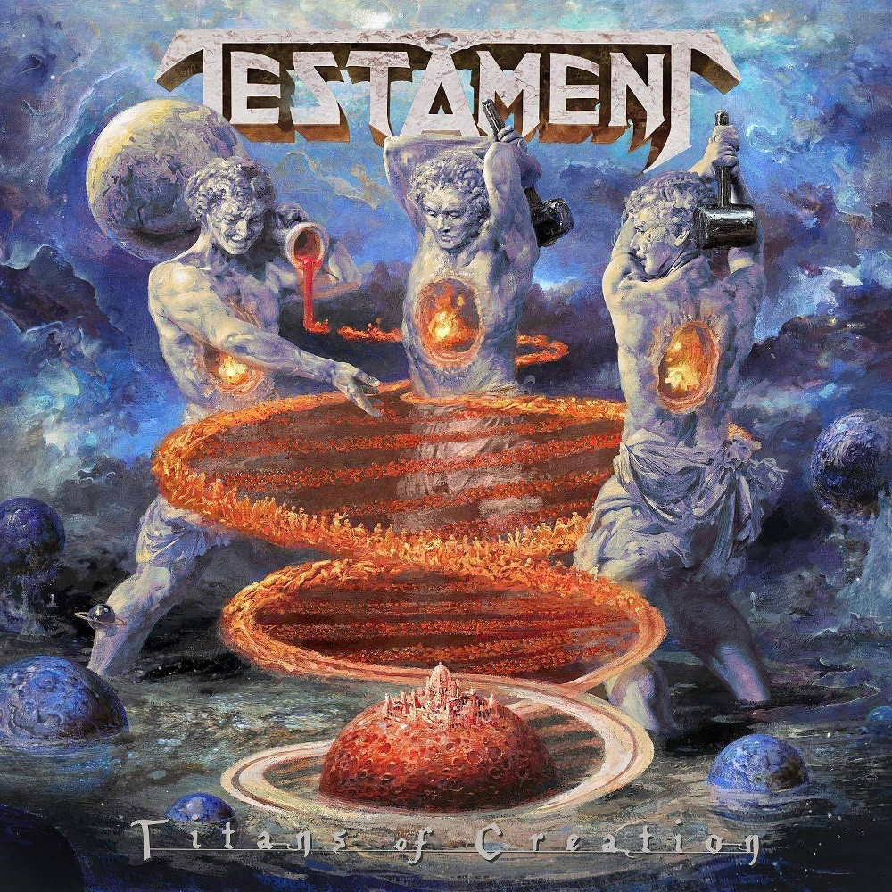 Testament Titans Of Creation Vinyl