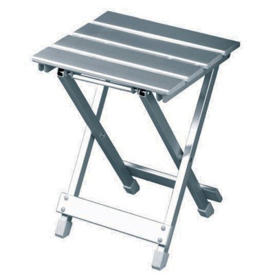 Canyon Silver Side Stool