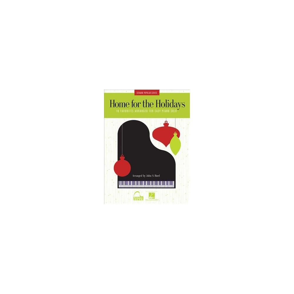 Home for the Holidays - (Schaum Popular) (Paperback)