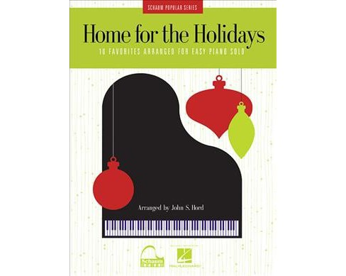 Home for the Holidays -  (Schaum Popular) (Paperback) - image 1 of 1