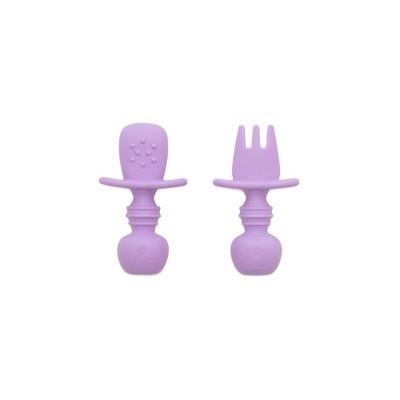 Bumkins Silicone Chewtensils - Lavender