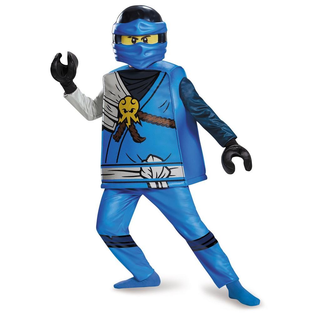 Lego Ninjago Boys' Jay Deluxe Halloween Costume S, Multicolored