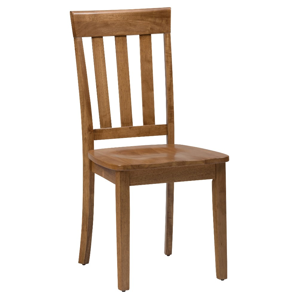 Simplicity Slat Back Dining Chair - Honey (Set of 2) - Jofran, Honey Kissed