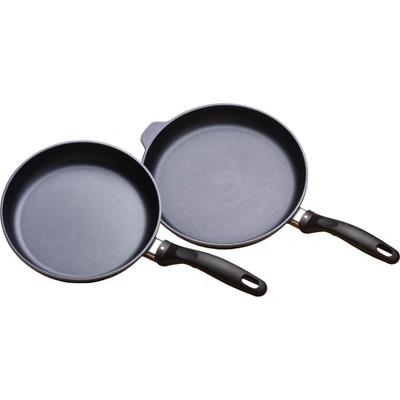 """Swiss Diamond 2pk 9.5""""& 11"""" Fry Pan Duo"""