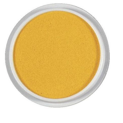 Yellow 6 Inch Center Enterprises Jumbo Circular Washable Stamp Pad