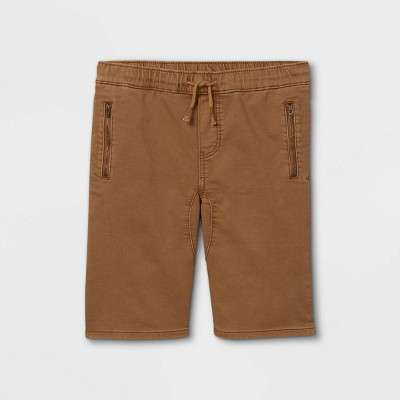 Boys' Waist Pull-On Shorts - art class™ Khaki